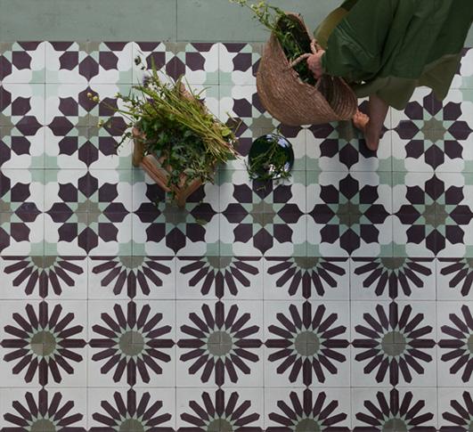 Quilt inspiration carreaux de ciment quilting fever for Carreaux de ciment et parquet