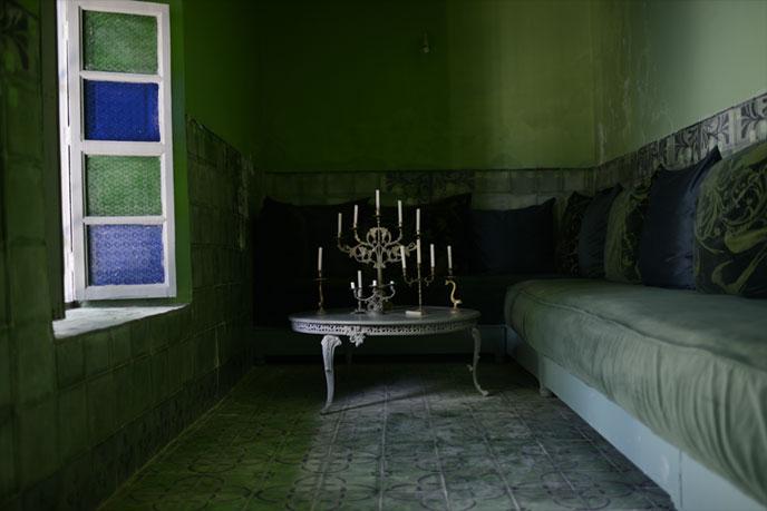 emery cie carrelages ciment exemples realisations marrakech salon. Black Bedroom Furniture Sets. Home Design Ideas