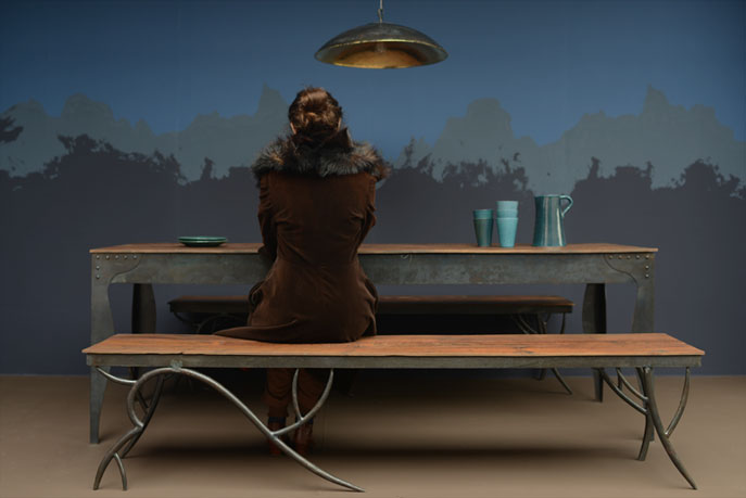 Teakhouten Tafel Bank : Emery cie meubels hout teakhout tafel en bank