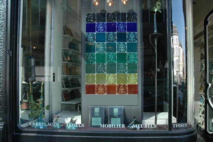 Emery cie carrelages art nouveau exemples for Emery cie carrelage