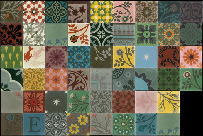 Emery cie carrelages ciment mod les patchwork d finition pa - Emery cie carrelage ...