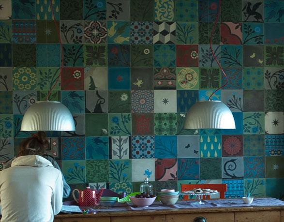 Emery cie carrelages ciment mod les patchwork exemples motifs - Emery cie carrelage ...