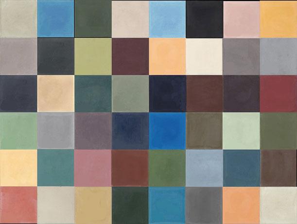 Emery cie tegels cement modellen patchwork voorbeelden effen - Cement tegels geloofwaardigheid ...