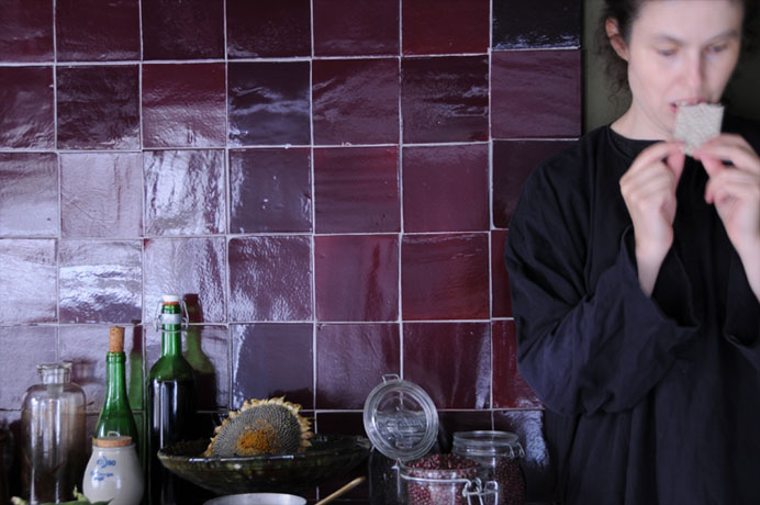 Paarse Keukens Voorbeelden : Emery cie tegels kleurtjes voorbeelden denkbeeldige