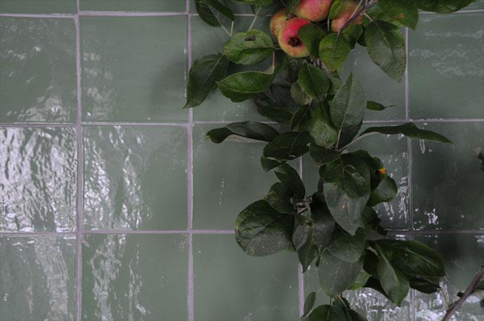 Emery cie tegels kleurtjes voorbeelden for Cuisine vert pale