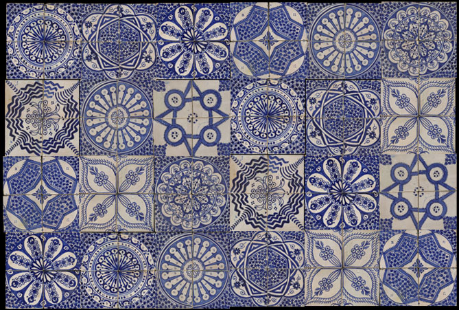 Emery cie tiles fez pottery examples for Fez tiles