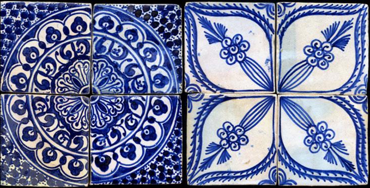 Emery cie tiles fez pottery for Fez tiles