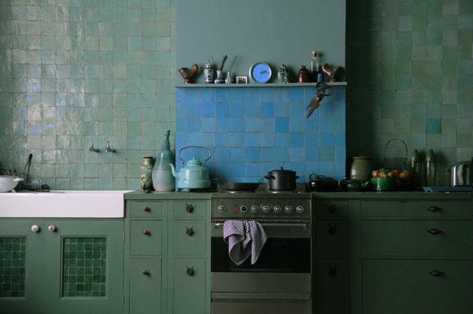 Industrieel Keuken Tegels : Emery cie tegels zelliges definitie