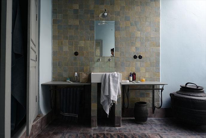 emery & cie - tegels - zelliges - voorbeelden - marrakech - la, Badkamer