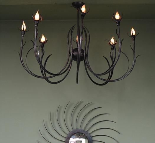 emery cie lumieres a suspendre lustres mod les herbes. Black Bedroom Furniture Sets. Home Design Ideas