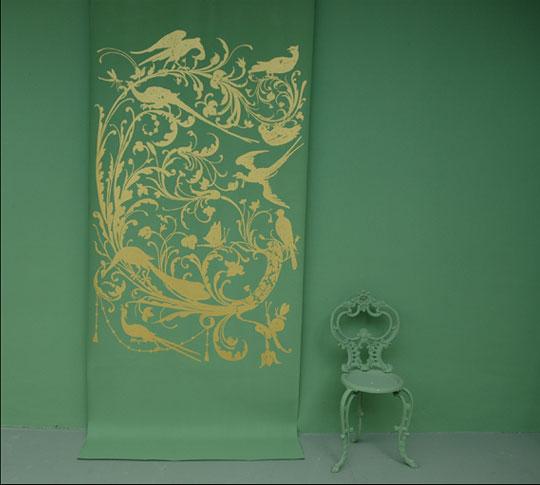 Emery cie wallpapers metre - Papier peint little green ...