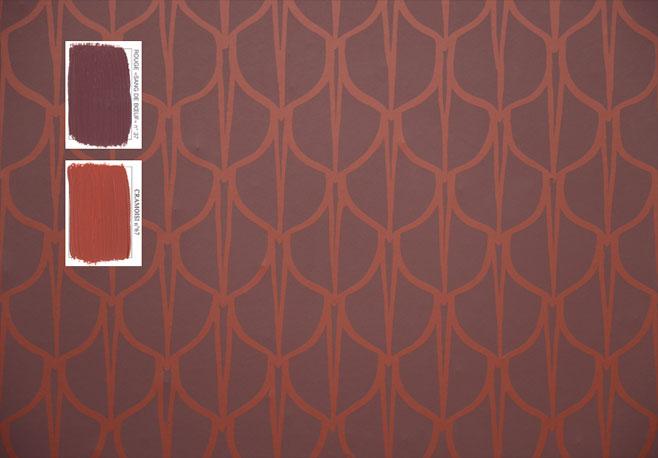 emery cie papiers peints au metre motifs ecailles exemples. Black Bedroom Furniture Sets. Home Design Ideas
