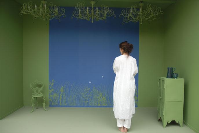 emery cie papiers peints au metre motifs herbes folles exemples page 02. Black Bedroom Furniture Sets. Home Design Ideas