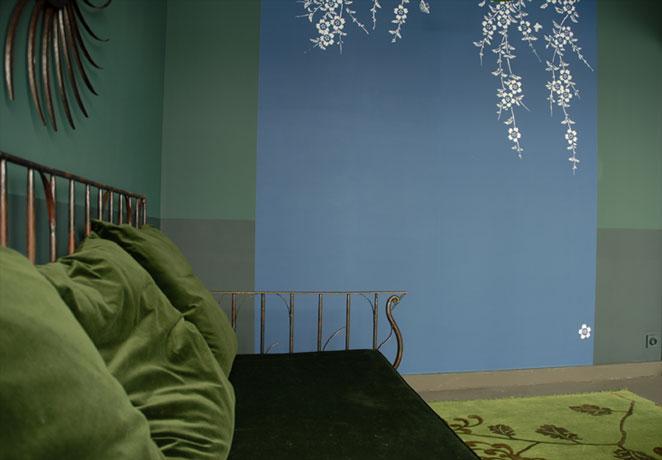 emery cie papiers peints au metre motifs prunier en fleurs exemples page 02. Black Bedroom Furniture Sets. Home Design Ideas