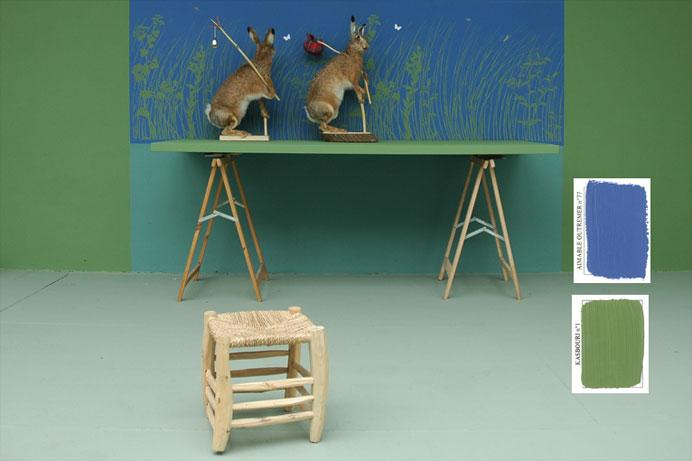 emery cie papiers peints au metre motifs herbes folles exemples page 04. Black Bedroom Furniture Sets. Home Design Ideas