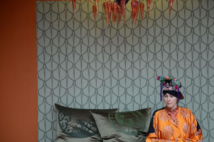 emery cie papiers peints au metre motifs ecailles exemples page 08. Black Bedroom Furniture Sets. Home Design Ideas