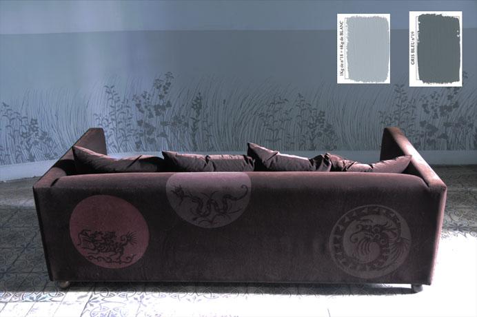 emery cie papiers peints au metre motifs herbes folles exemples page 08. Black Bedroom Furniture Sets. Home Design Ideas