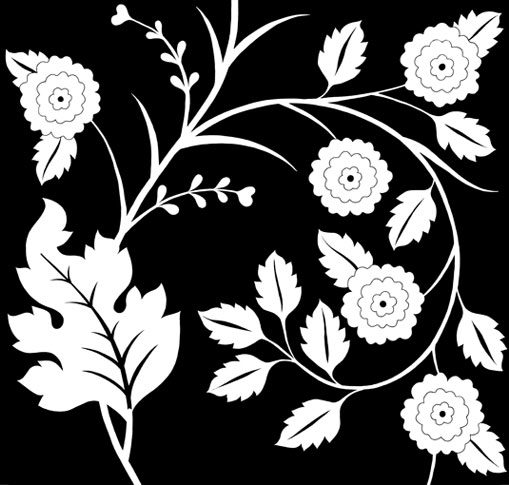 emery cie papiers peints au metre motifs iznik. Black Bedroom Furniture Sets. Home Design Ideas
