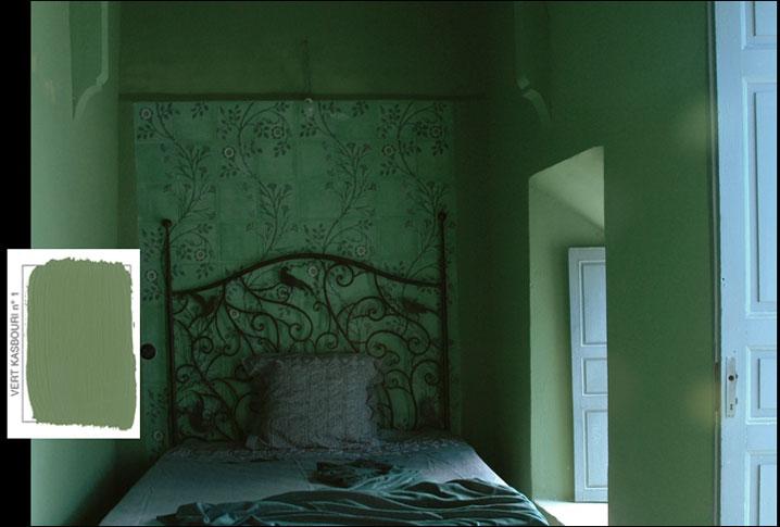 emery cie archive peintures peinture mate exemples interieurs verts. Black Bedroom Furniture Sets. Home Design Ideas