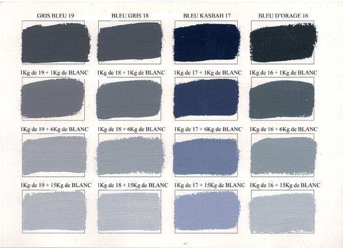 Emery cie peintures peinture mate couleurs degrades page 03 - Vert de gris peinture ...