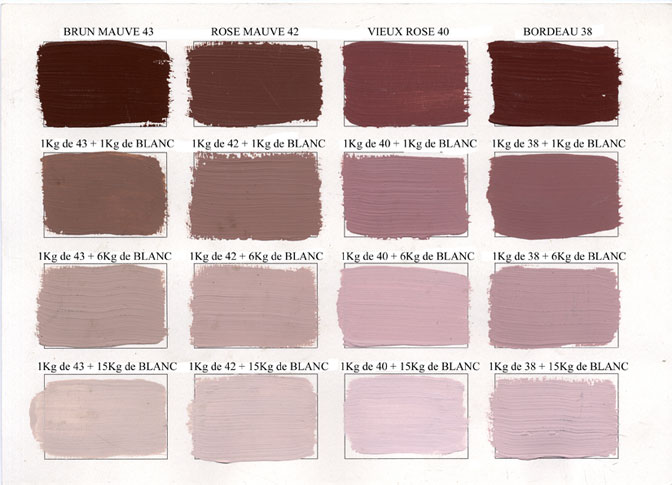 Emery cie paints matt paints colours shades - Peinture couleur aubergine ...