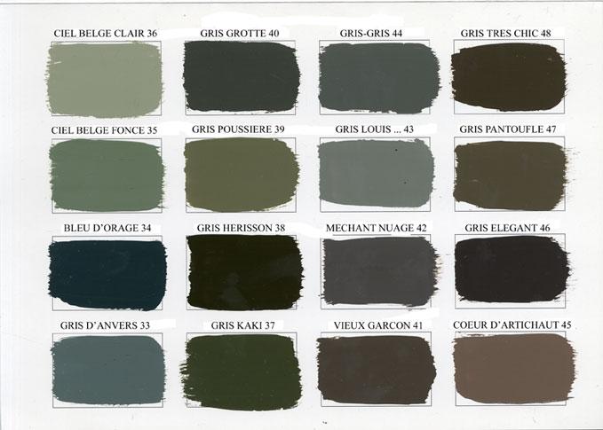 Envie de vous montrer ma salle a manger 1192629 - Mur couleur lin et gris ...